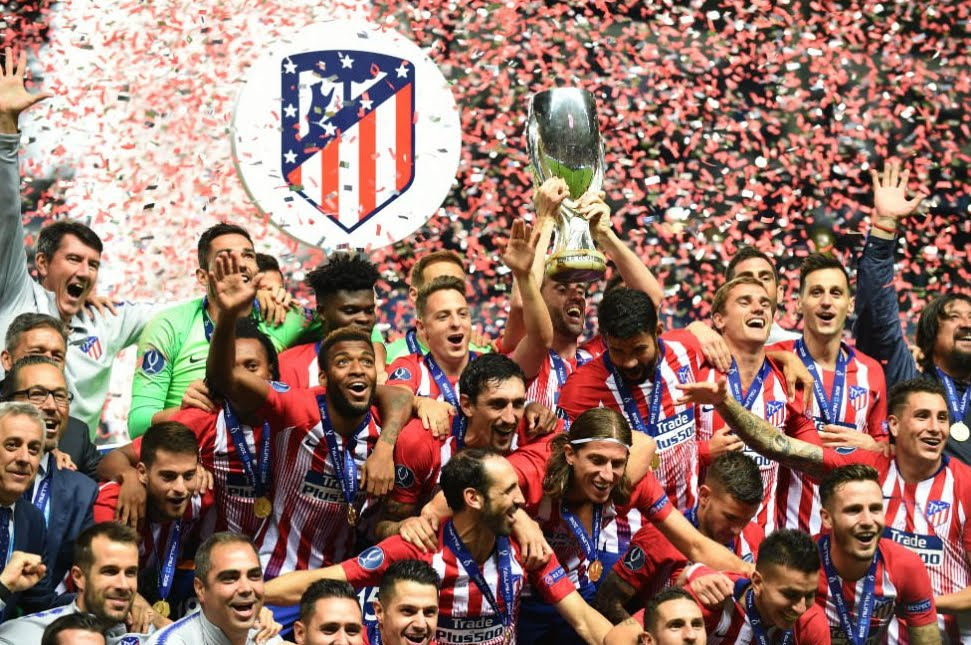 Real Madrid-Atletico è finita 2-4: ai colchoneros la Supercoppa Europea 2018.