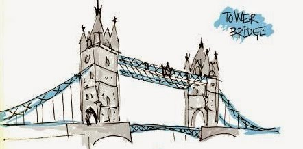 Tower Bridge em Londres