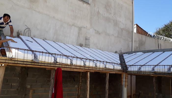 Construção do Templo da Igreja Batista Ebenézer Ministério Colheita
