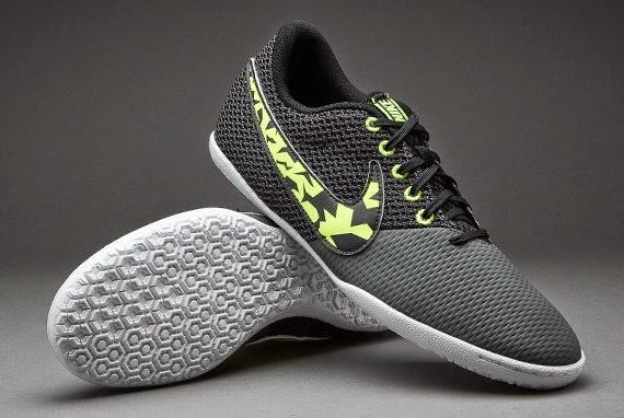 Nike Elastico Pro III Futsal Shoes with Black White Solar Green ... 30a3311492cd