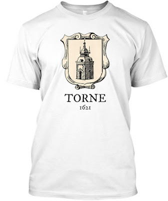 Torne 1621 t-paita tröja paikkakuntapaita