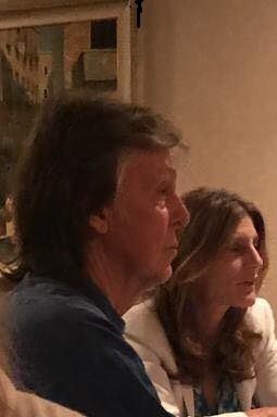 Greetings From Asbury Park Paul McCartney Wife Dine In The City