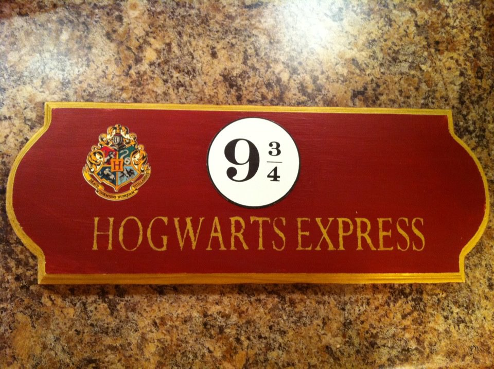 The Hogwarts Express is the name of the train that makes a run between London Kings Cross Station Platform 9 and Hogsmeade Station It makes this run