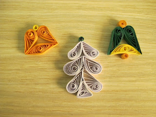clopotei si brad quilling