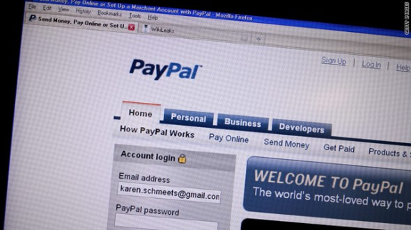 how to have someone send money to your paypal