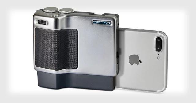 Pictar Pro: l'impugnatura che ti permette di trasformare il tuo smartphone in una DSL-R