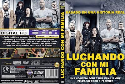 CARATULA - FIGHTING WITH MY FAMILY - LUCHANDO CON MI FAMILIA - 2019