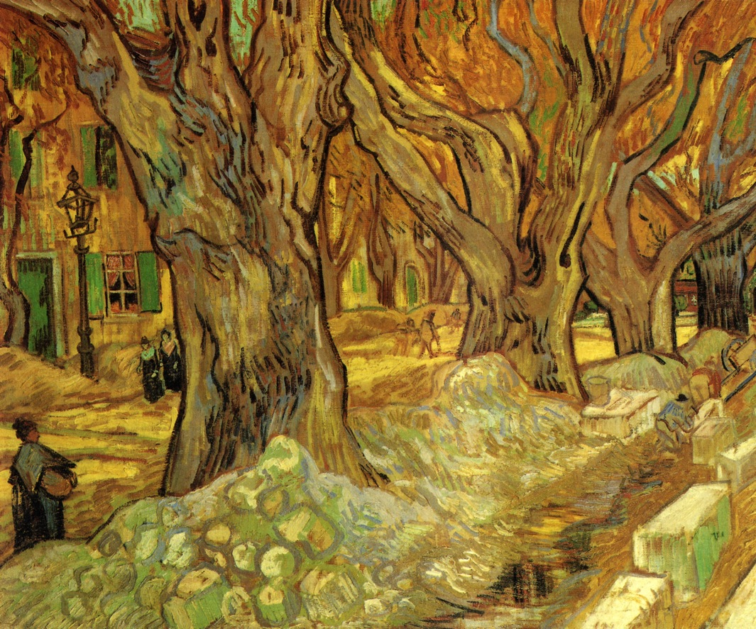 Pintura Postimpresionista Art And Artists Vincent Van Gogh Trees Part 2