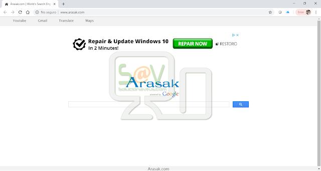 Arasak.com (Hijacker)