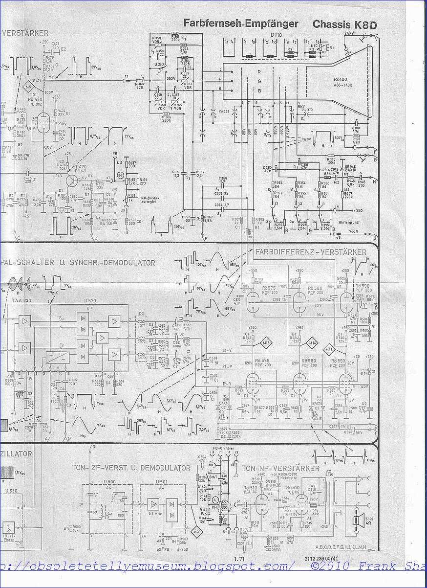 Obsolete Technology Tellye !: PHILIPS X26K171 ROYAL COLOR