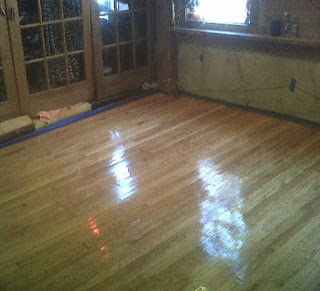 Wood Floor Refinishing After