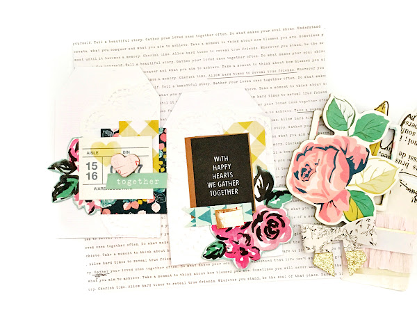 Crate Paper Design Team : Floral Tags