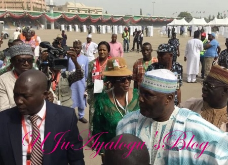 PHOTOS: Atiku Storms Eagles Square For PDP Convention