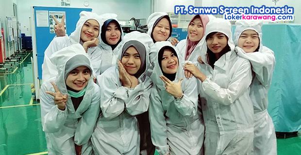 Lowongan Kerja PT. Sanwa Screen Indonesia MM2100 Cikarang