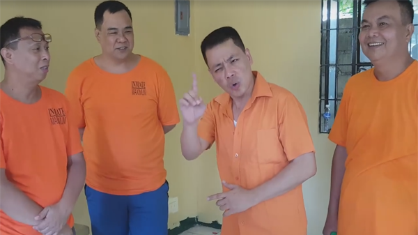 Colanggo, other inmates dedicate a song for De Lima