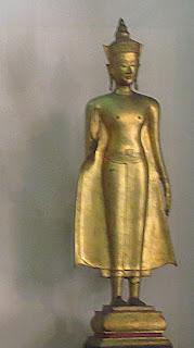 Thai gold Buddha