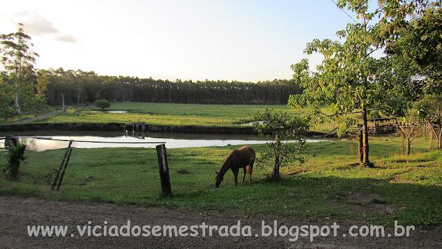 Paisagem rural no interior de Estrela, RS