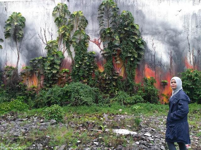 mural di kota medan