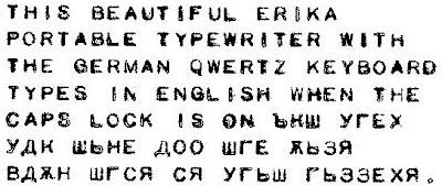 oz.Typewriter: The Bilingual Erika Portable Typewriter