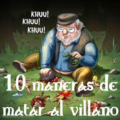 10 maneras de matar al villano de una novela