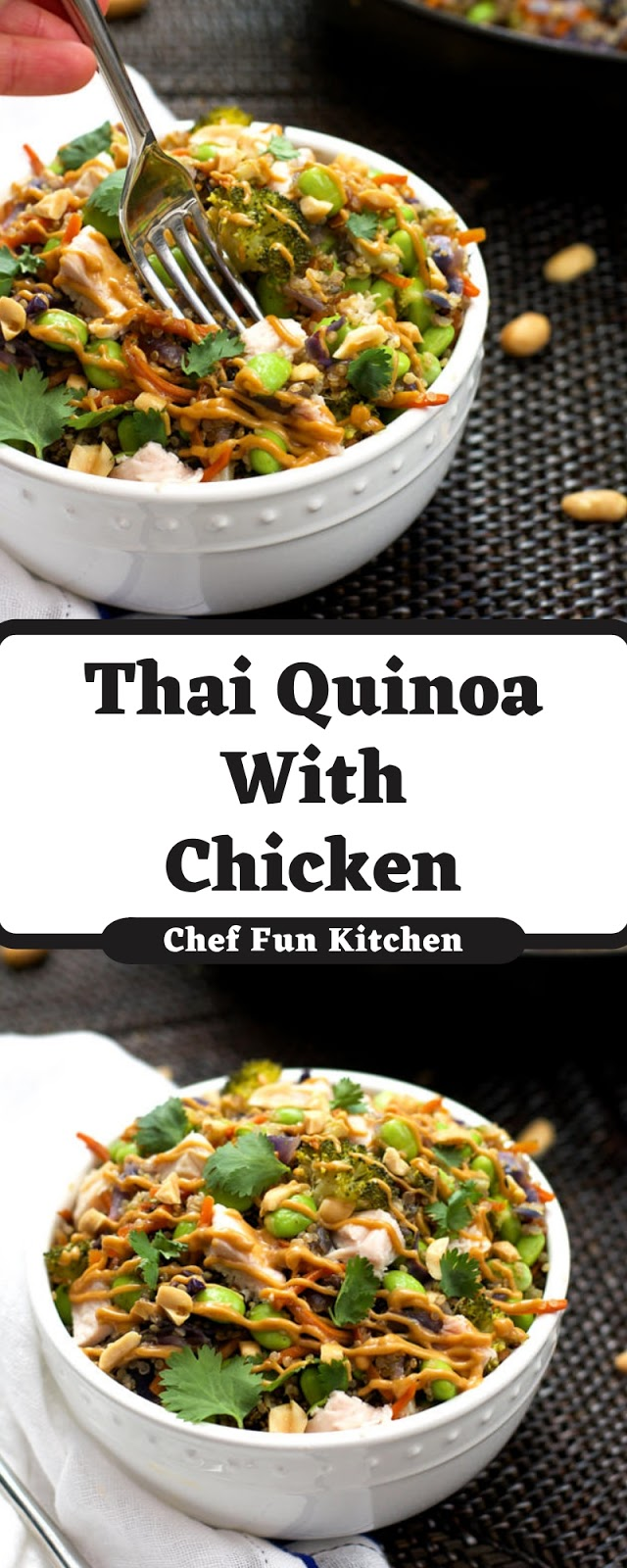 Thai Quinoa With Chicken