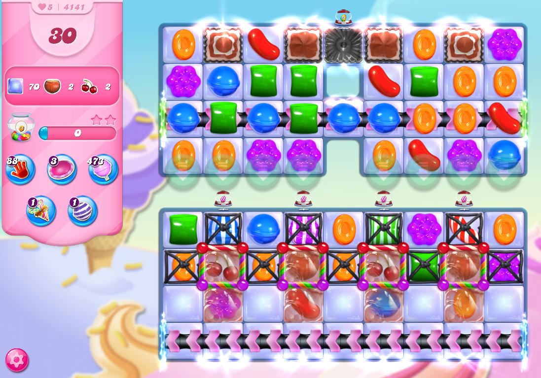 Candy Crush Saga level 4141