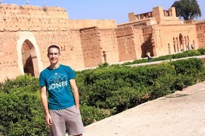 Palacio el Badii en Marrakech