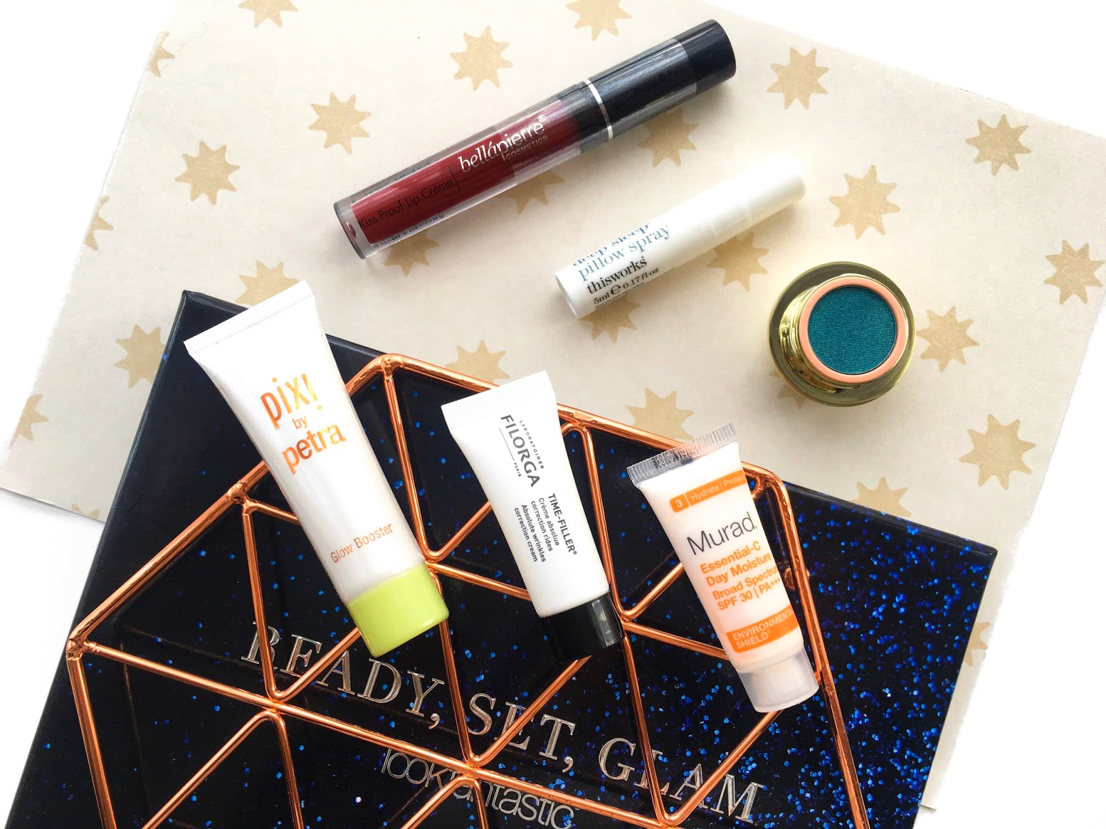 lfbeautybox, look fantastic beauty box, look fantastic ready set glam beauty box review