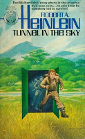 Tunnel in the Sky, by Robert Heinlein