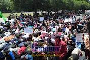 Ribuan Petani Jember Minta Jokowi Serius Jalankan Reforma Agraria
