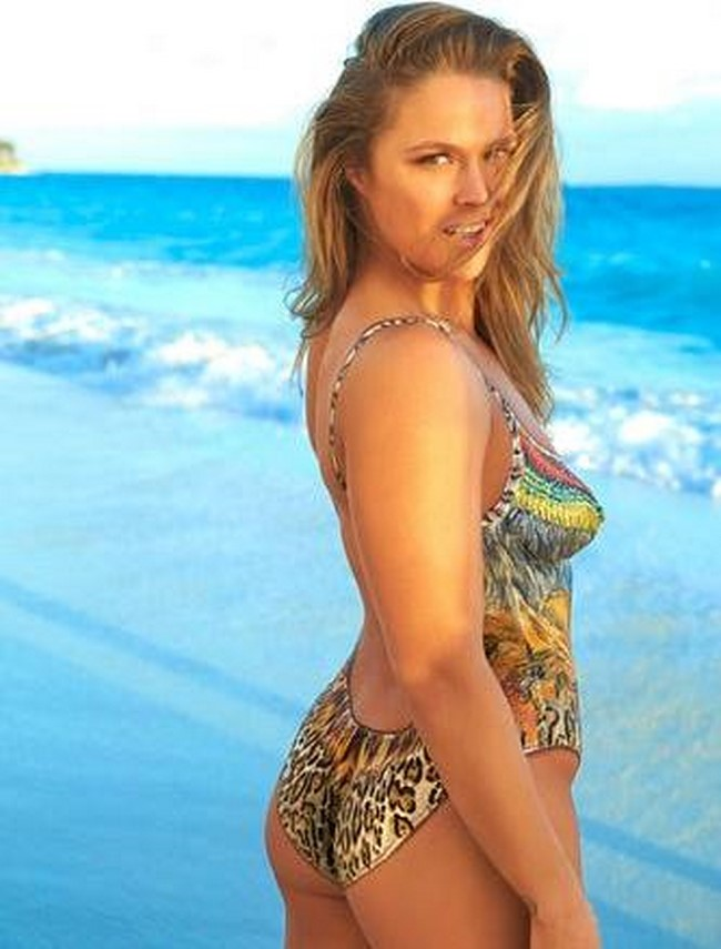 Musa do MMA Ronda Rousey