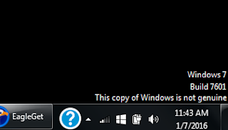 Cara Membuat Windows 7 Bajakan (Trial) Menjadi Genuine (Asli)