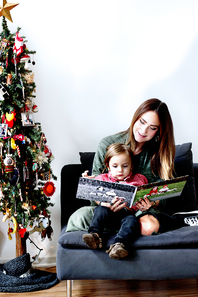 Making a Holiday Photo Book For Your Kids