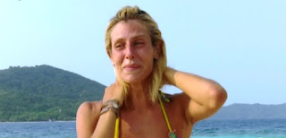 paola caruso piange all'isola dei famosi 2016