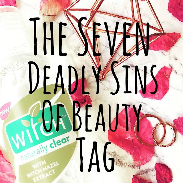 Lovelaughslipstick blog - The Seven Deadly Sins of Beauty Tag