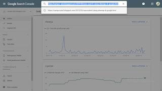 Cara Submit URL DI Google webmaster Tools Tampilan terbaru