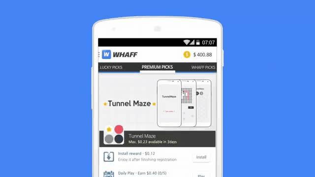whaff merupakan layanan pay per download paling populer di dunia