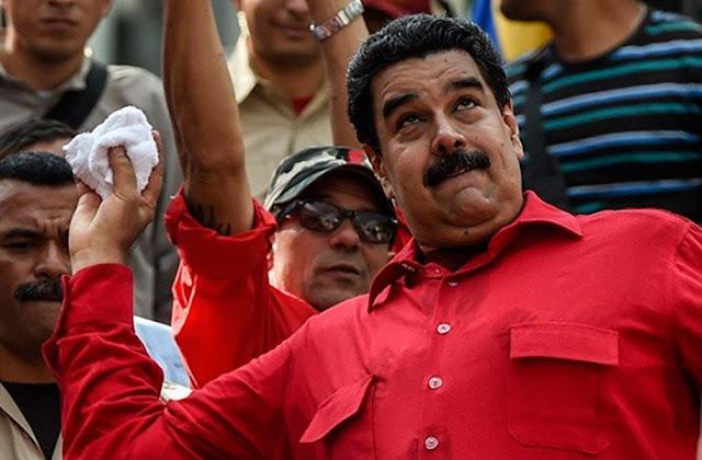 """Maduro dice que oposición usa """"supuesta crisis humanitaria"""" para una intervención"""