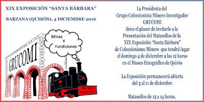 Invitación al matasellos de Grucomi en Quirós