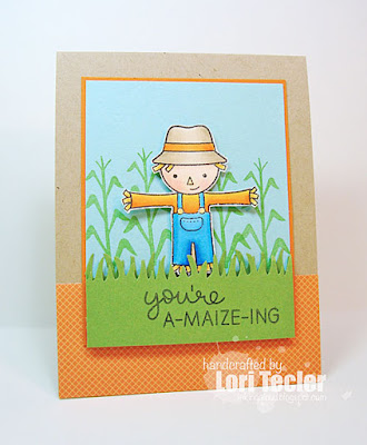 You're A-maize-ing card-designed by Lori Tecler/Inking Aloud-stamps from Lawn Fawn