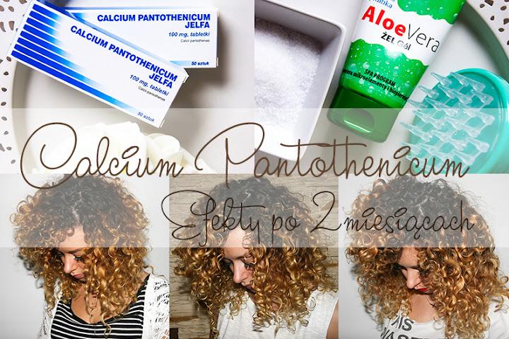 ZAPUSZCZAM WŁOSY! CALCIUM PANTOTHENICUM - EFEKTY PO 2 MIESIĄCACH