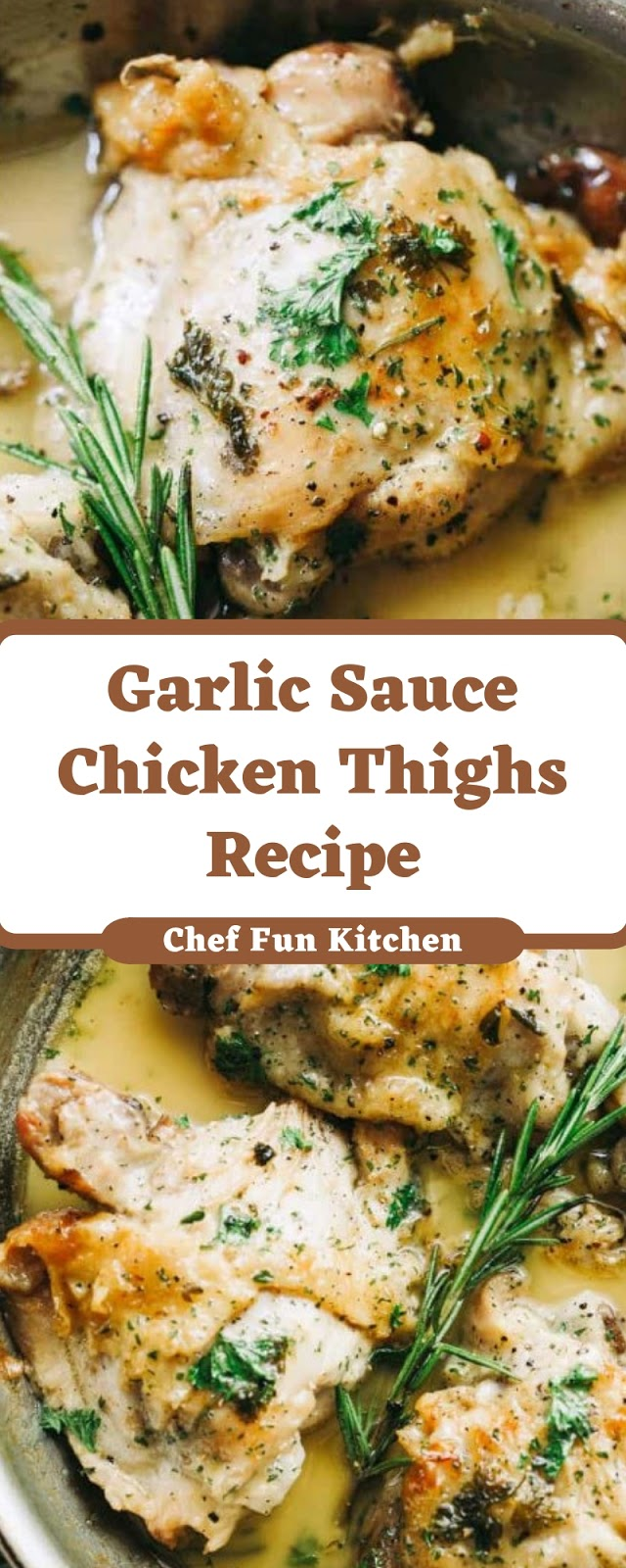 Garlic Sauce Chicken Thighs Recipe