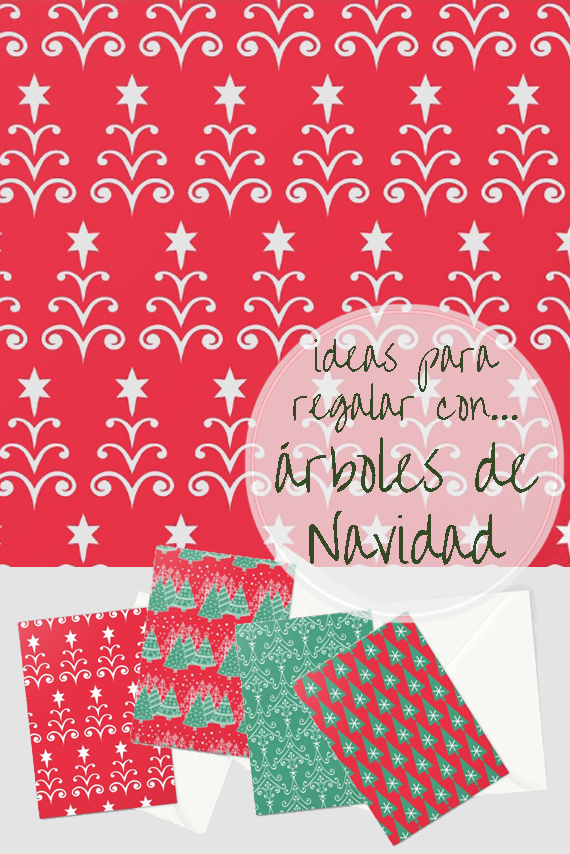 Fir Trees Patterns: ideas para regalar con árboles de Navidad