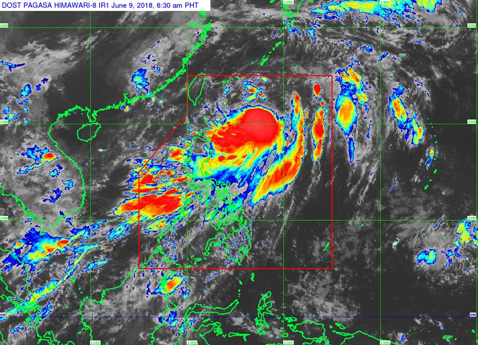 'Bagyong Domeng' PAGASA weather update June 9, 2018