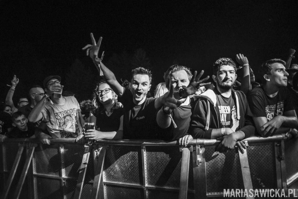 NOFX Czad Festiwal crowd tłum