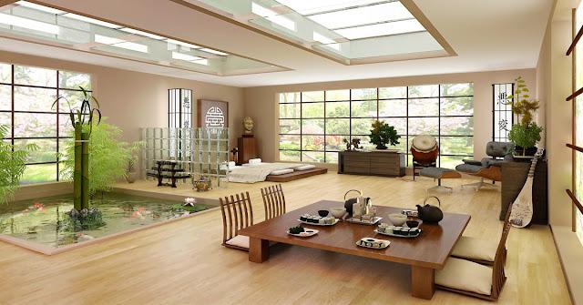 Menata Ruang Tamu Minimalis Ala Jepang