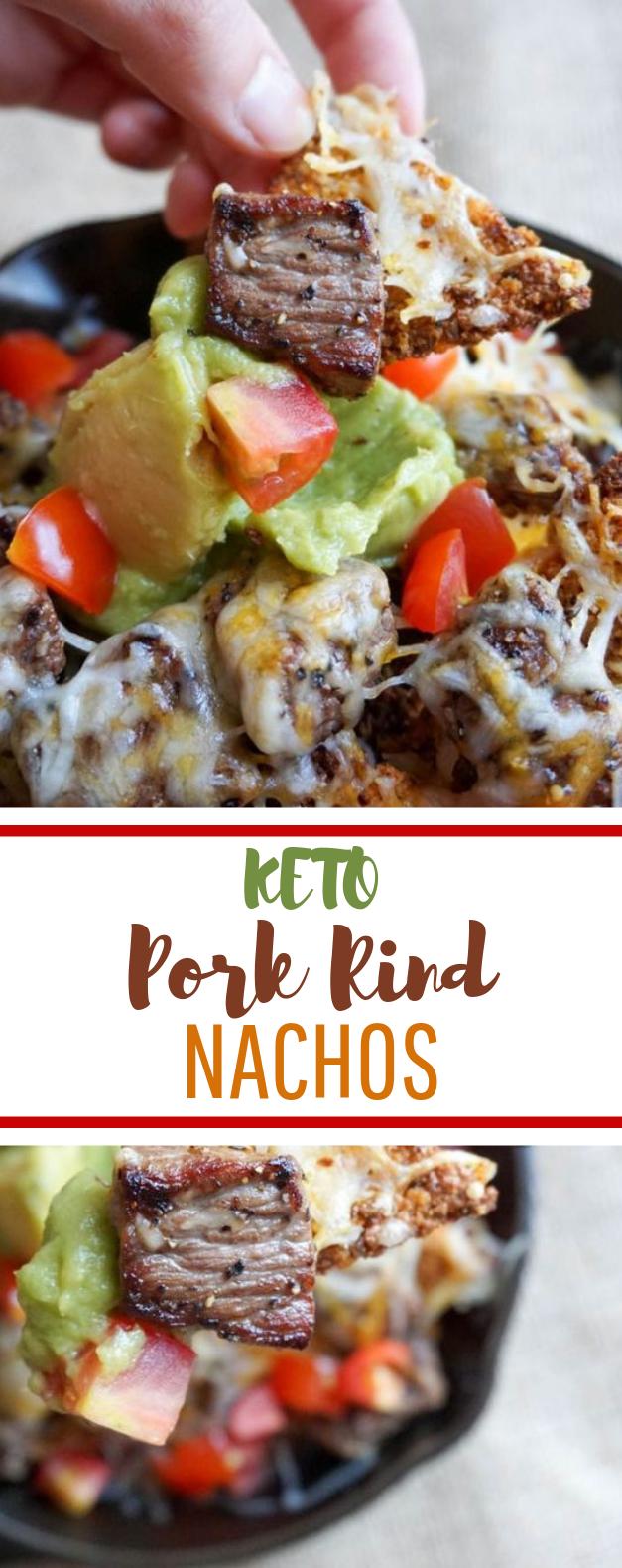 Pork Rind Nachos #keto #diet