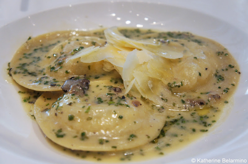 Palettes Restaurant Soft Egg Ravioli with Truffle Downtown Denver Restaurants