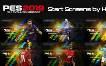 StartScreen Pack | PES2019 PC | By Hawke