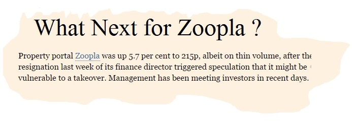 what next for zoopla realtor or zillow